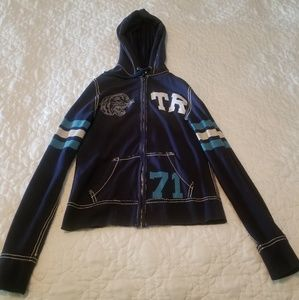 True Religion zip up hoddie